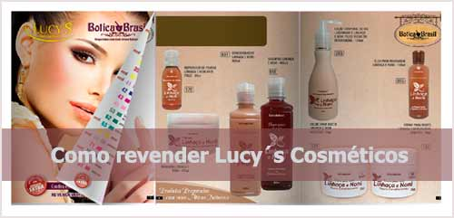 Revender cosméticos Lucy´s.