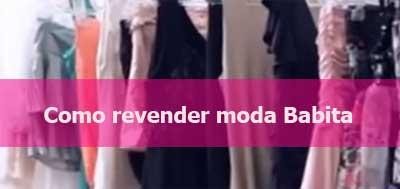 Aprenda a revender roupas moda Babita.